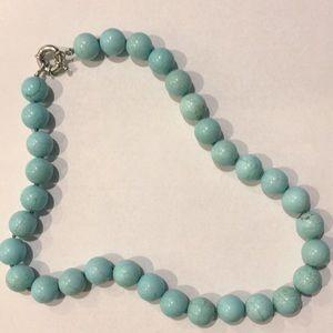 Jewelry - Genuine Turquoise beaded necklace